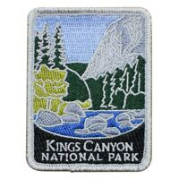 "Kings Canyon National Park Patch - Sierra Nevada, California 3"" (Iron on)"