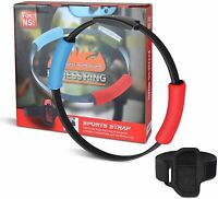 For Nintendo Switch Ring Fit Adventure Fitness Exercise Ring-Con+ Strap (NoGame)