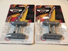 2 Sets Kool Stop bicycle Quik Klaws CANTILEVER threadless brake pads SILVER (4)