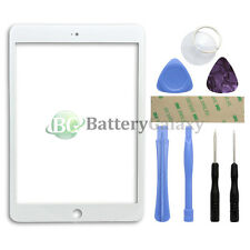 White Outer LCD Screen Glass Lens Replacement for Apple iPad Mini 1 2 3 +8 Tools
