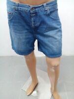 Pantaloncino Hilfiger denim Uomo Taglia size 33 Shorts Man Jeans Homme Coton8733