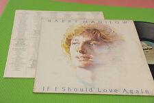 BARRY MANILOW LP SI J'AI DEVRAIT ORIG ITALIE 1981 EX