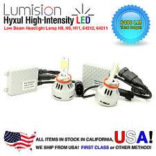 Lumision H8 H9 H11 LED CREE-MTG2 40W Headlight Low Beam Bulb Set 6400LM 6500K