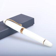 Free shipping jinhao X450 white roller ball pen new gift pen