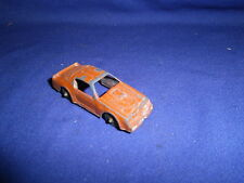 Vintage Pontiac Firebird Diecast Toy Car Tootsietoy Circa 1970s 2 1/2 inch USA