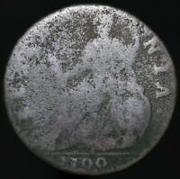 1700 | William III Half-Penny | Copper | Coins | KM Coins