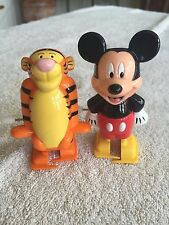Disney Mickey Mouse and Tigger Wind Up Toys
