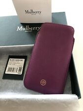 Mulberry Leather Iphone Case For iPhone 6, 7, 8 And New SE Excellent Condition.