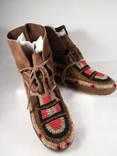Women's House of Harlow 1960 Beaded Moccasins, Shoes, Boots