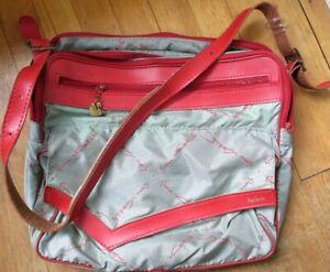 Hartmann Luggage for Gloria Vanderbilt Co-Branded Vintage Travel/Messenger Bag