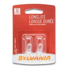 Sylvania Long Life - 2 Pack - 194LL Light Bulb Courtesy Side Marker Glove sn