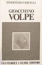 INNOCENZO CERVELLI GIOACCHINO VOLPE GUIDA EDITORI 1977