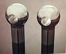 """Risers manubrio custom Ø1"""" (25mm) rotondi ball alluminio altezza 7.5 cm M12"""