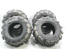 07 Yamaha YXR660 Rhino 660 Set of 4 Tires MAXXIS MUD BUG AT 26x12-12