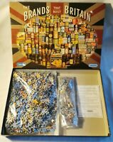 THE BRANDS THAT BUILT BRITAIN - 1000-PIECE JIGSAW PUZZLE - GIBSONS 100% COMPLETE