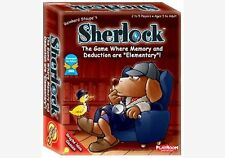 Gamewright SHERLOCK Card Game - Memory & Deduction - Elementary Holmes - Ages 5+