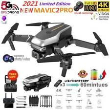 Pro Faltbar WiFi FPV Drohne mit 4K HD Kamera Selfie RC Quadrocopter Drone DHL