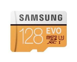 Samsung Evo 128GB Micro SD Card SDXC UHS-1 100MB/s Memory Card 4K U3 (Brand New)