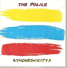 "THE POLICE ""Synchronicity II"" 7"" Vinyl Single Brazil"