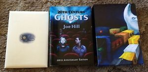 20th CENTURY GHOSTS: 10TH ANNIV Joe Hill  DELUXE 200 COPY SIGNED/LTD SLIPCASED