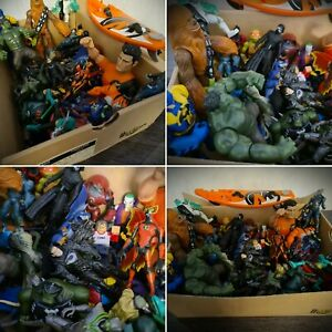 Mystery Kids Mixed Action Figure Toy Box Marvel DC Action Man Ben 10 Star Wars