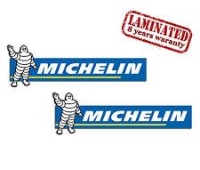2 Adesivi Vinile Stickers Auto Moto Michelin Sponsor Suzuki Yamaha Ducati B 45