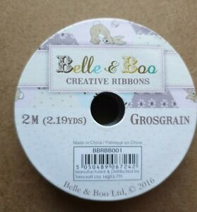 Belle And Boo Creative Ribbons 2m Grosgrain. Just for you design.