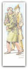 Ex-libris Juillard Blake Et Mortimer Trésor signé 9x25 cm
