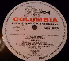 STUFF SMITH - S / T LP RARE UK 1ST PRESS COLUMBIA CLEF SERIES 33 CX 10093