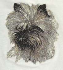 Embroidered Ladies Short-Sleeved T-Shirt - Cairn Terrier Aed14565
