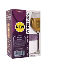 YOUNGS WINEBUDDY PEACH WINE KIT 6 BOTTLE (7 DAY KIT)  BUY 1 GET 10% OFF 2ND
