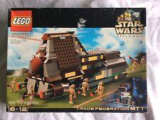 RARE VINTAGE LEGO 7184 STAR WARS TRADE FEDERATION MTT SEALED MSIB SYSTEM 2000
