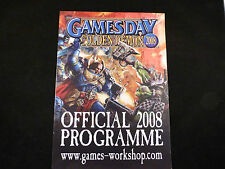 Games Day & Golden Demon Official 2008 Programme