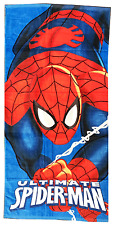 MARVEL ULTIMATE SPIDERMAN ENFANTS DE COTON SERVIETTE BAIN PLAGE