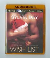 Wish List: by Sylvia Day: MP3CD Audiobook