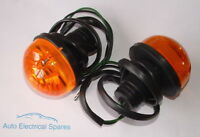 L760 Lucas type indicator lamp light unit x 2 AMBER for LAND ROVER / ROVER Mini