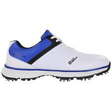 Stuburt Mens 2019 PCT Sport Lightweight Durable Golf Shoes White / Red 8 UK