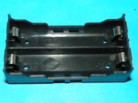 Dual Double 18650 Battery holder sled - configurable for parallel OR series