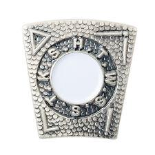 Quality New Stone Effect Mark Keystone Pin Badge