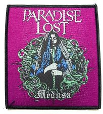 PARADISE LOST ( medusa ) OFFICIAL  WOVEN  PATCH