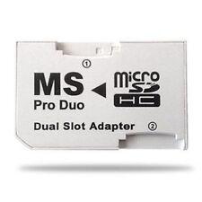 Adaptador micro SD a memory stick pro duo dual Blanco - G