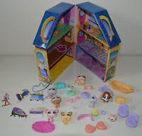 Pets house maison carton KMART 9 animaux My Littlest Pet shop LPS HASBRO TBE