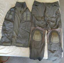 Grey Mens Military Gen 3 Combat Tactical Adjustable Uniform in Large