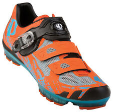 Pearl Izumi X-Project 1.0 MTB Carbon Shoes Safety Orange/Electric Blue 39