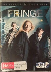 FRINGE Season 1 DVD PAL REGION 4 Seven Discs Set J.J. Abrams Free Postage