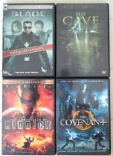 Blade Chronicles of Riddick The Cave The Covenant  4 DVD Set Snipes Vin Diesel