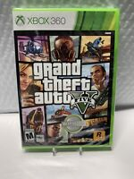 Grand Theft Auto V GTA 5 ( Microsoft Xbox 360, 2013) NEW Sealed Free Shipping