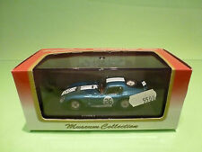 KYOSHO 1:43 COBRA SHELBY - COLOR = BLUE   - GOOD CONDITION IN BOX