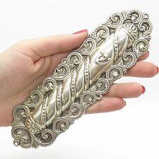 Vtg 925 Sterling Silver Large Mezuzah Case