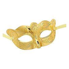 Maschere per carnevale e teatro oro , prodotta in Italia